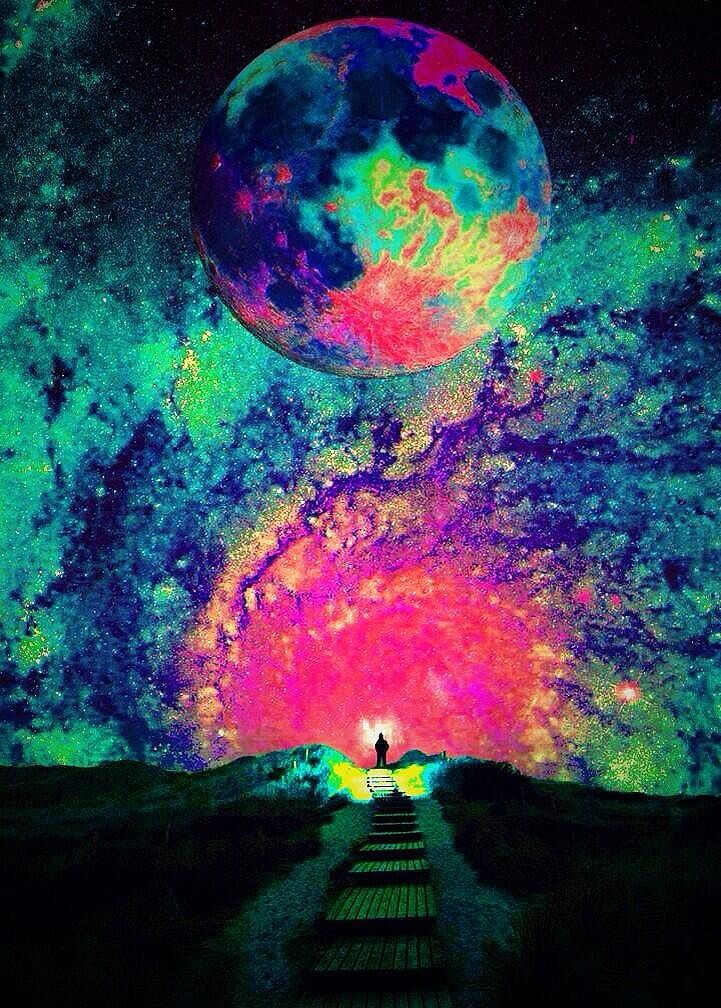 Drawn planet trippy Best pictures Print Cosmic ideas