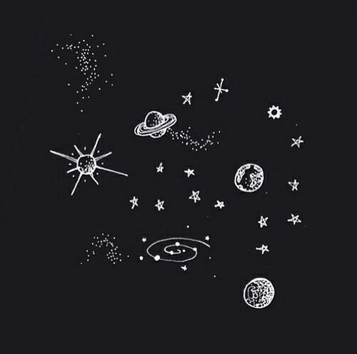 Drawn planets universe Universe drawing art drawing universe