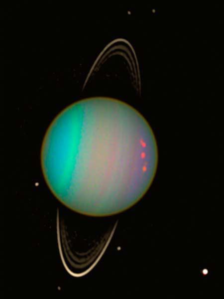 Drawn planets uranus planet Uranus: Goddess  of Change