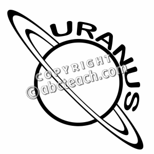 Planets clipart drawn #12