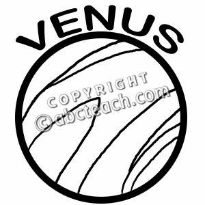 Drawn planets venus Planet Venus Clipart Clipart B