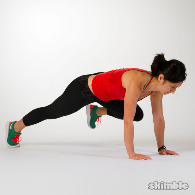 Drawn planks Workout and How to High