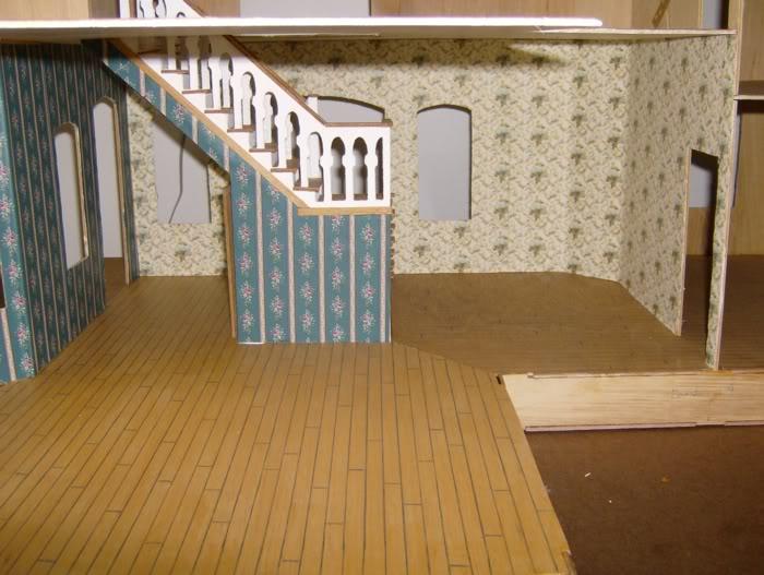 Drawn planks Flooring Flooring More Dollhouse Blogspot: