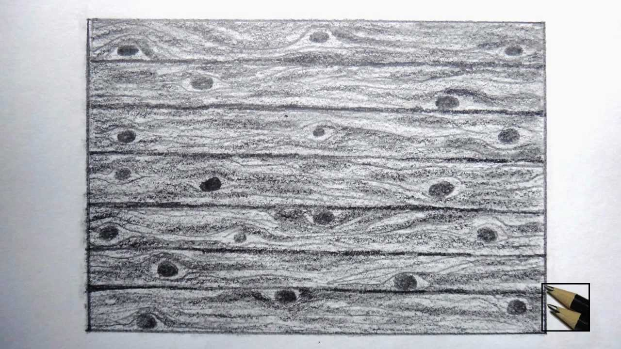 Drawn planks art To to draw surface wooden