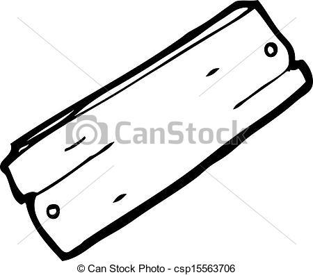 Planks clipart cartoon Clipart csp15563706 wood plank