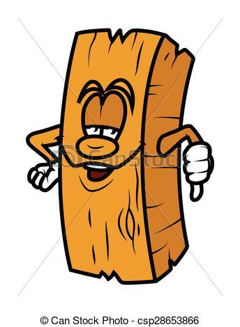 Planks clipart cartoon Clip Showing Plank of Cartoon