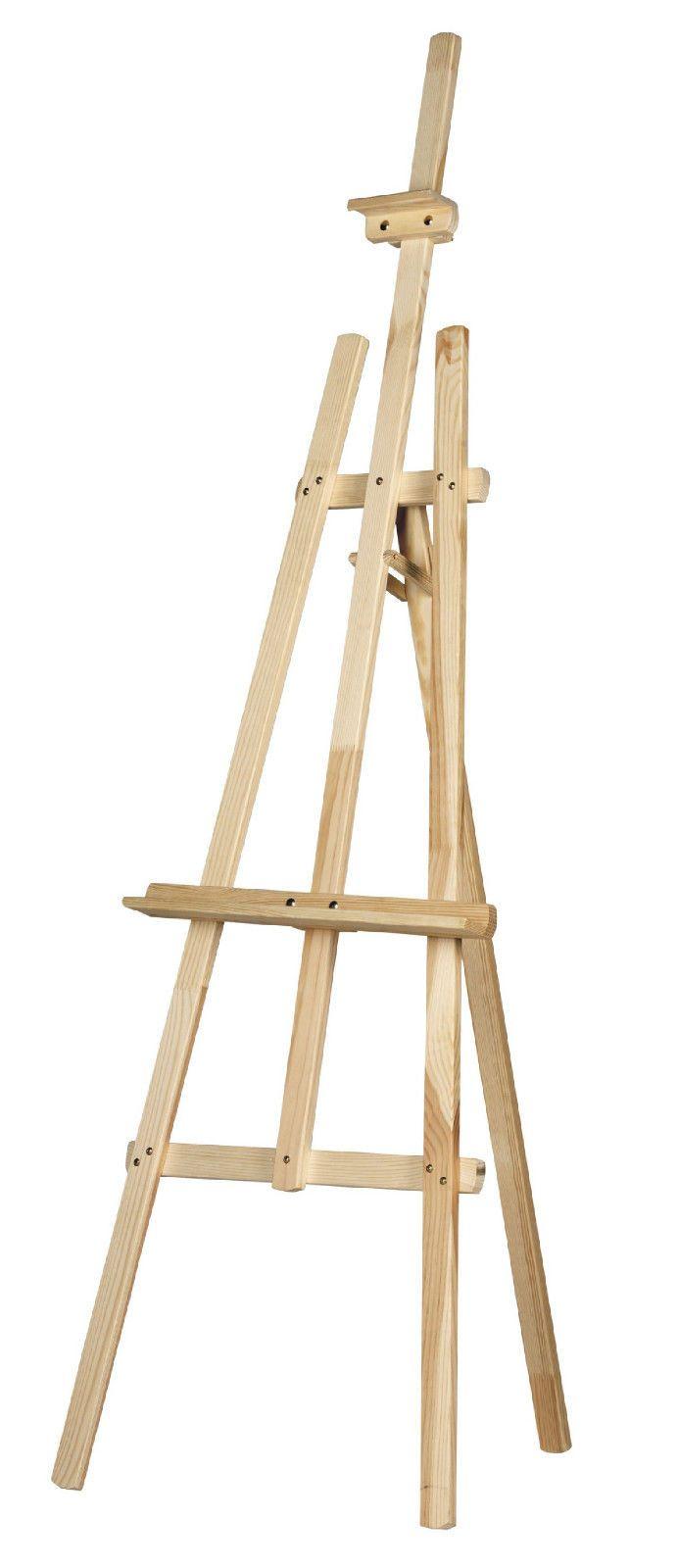 Drawn planks easel ART on best Wooden 6ft