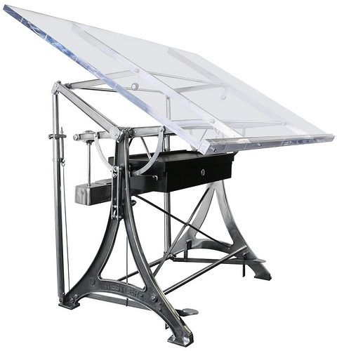 Drawn planks industrial Tables Drafting Drafting Table best