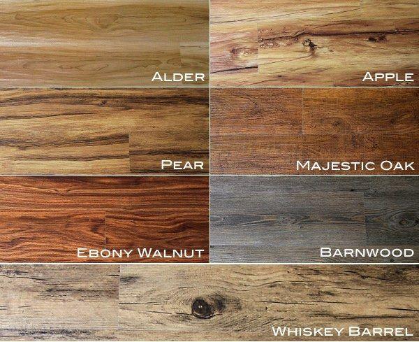 Drawn planks industrial Flooring on on  wood