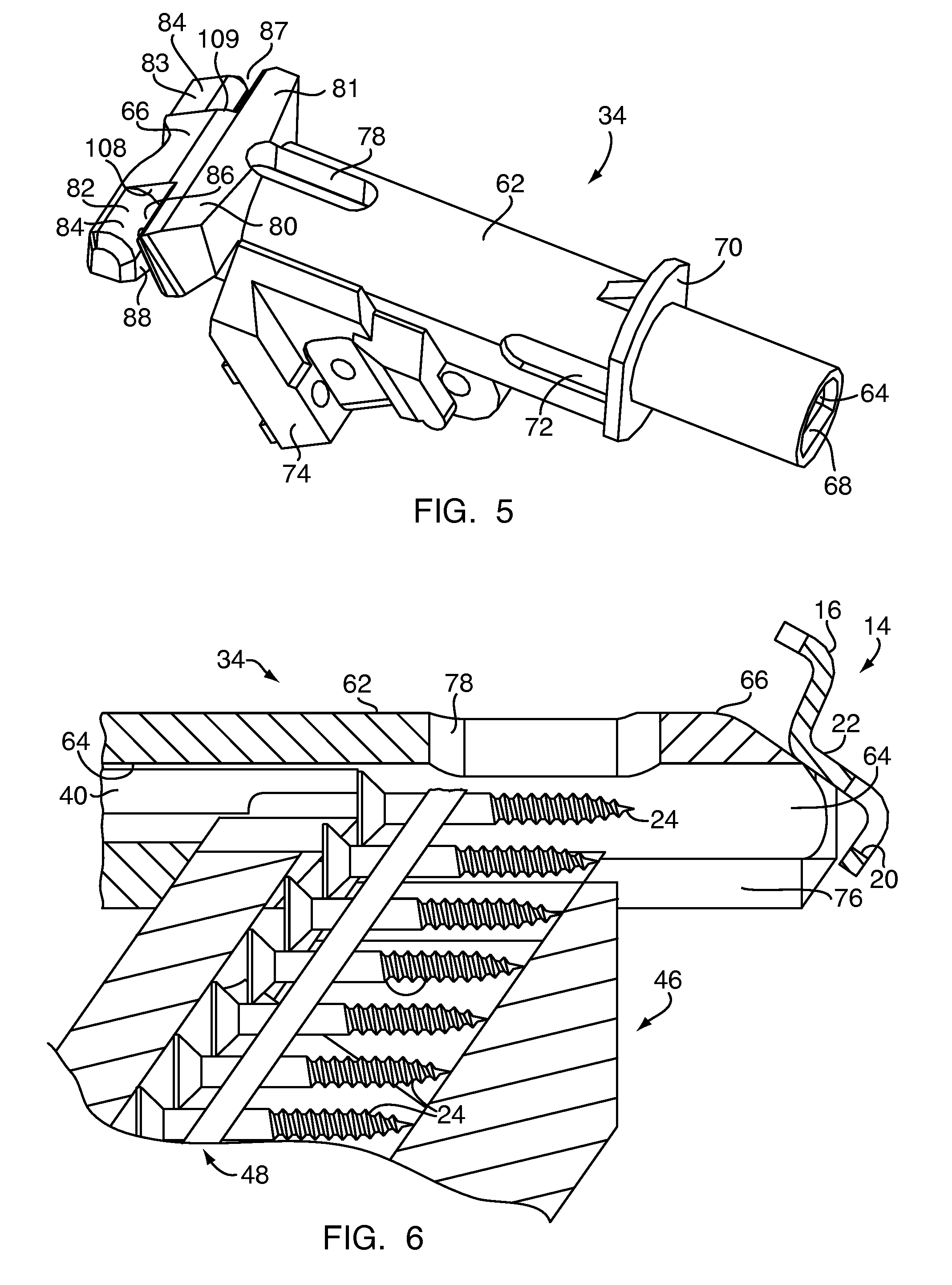 Drawn planks rapid  Patent Drawing rapid installation
