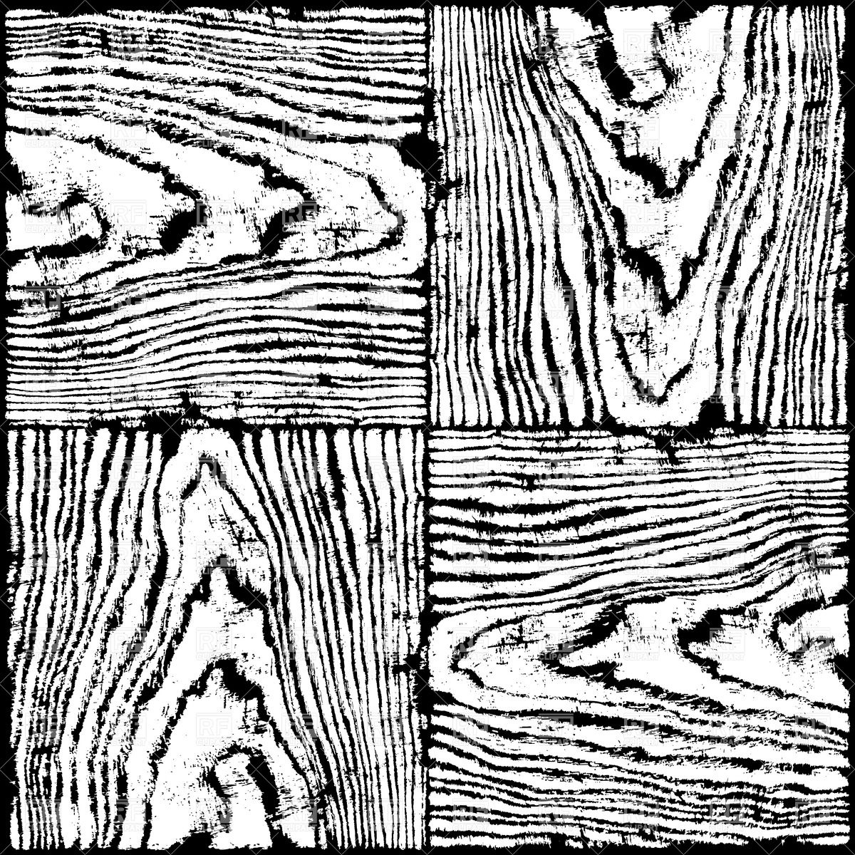 Drawn planks wooden Grain For wood the Wood