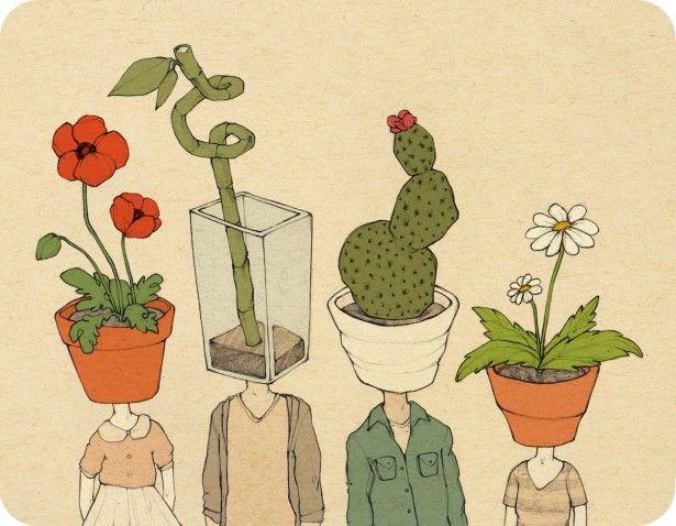 Drawn pot plant art Pinterest ideas Best on drawing