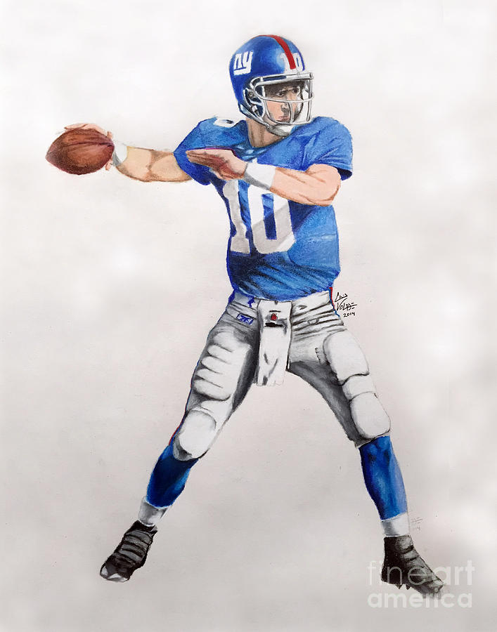 Drawn playing dave rappoccio Drawing by Volpe Manning Giants