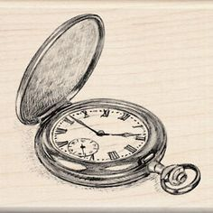 Drawn watch stopwatch Tattoo pocket back way valuable!