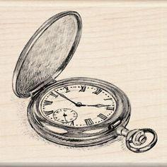 Drawn pocket watch #8