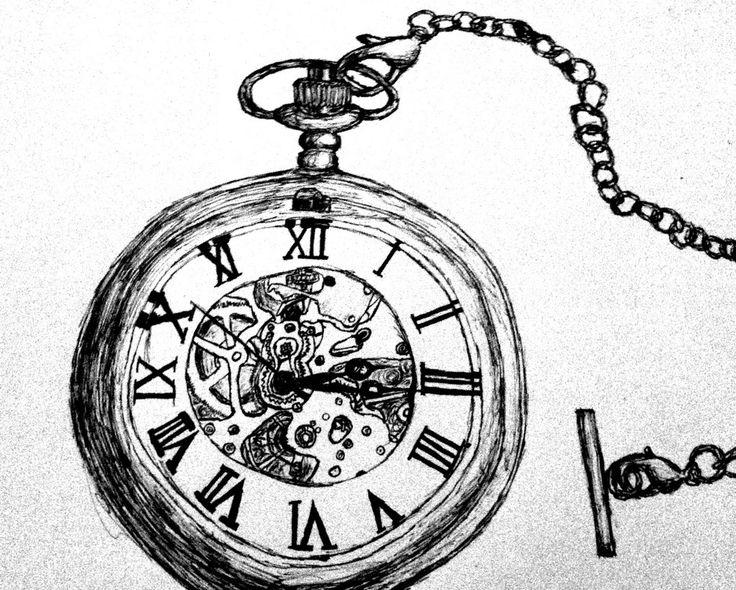 Pocket Watch clipart alice in wonderland Pocket Watch Pen Pocket by