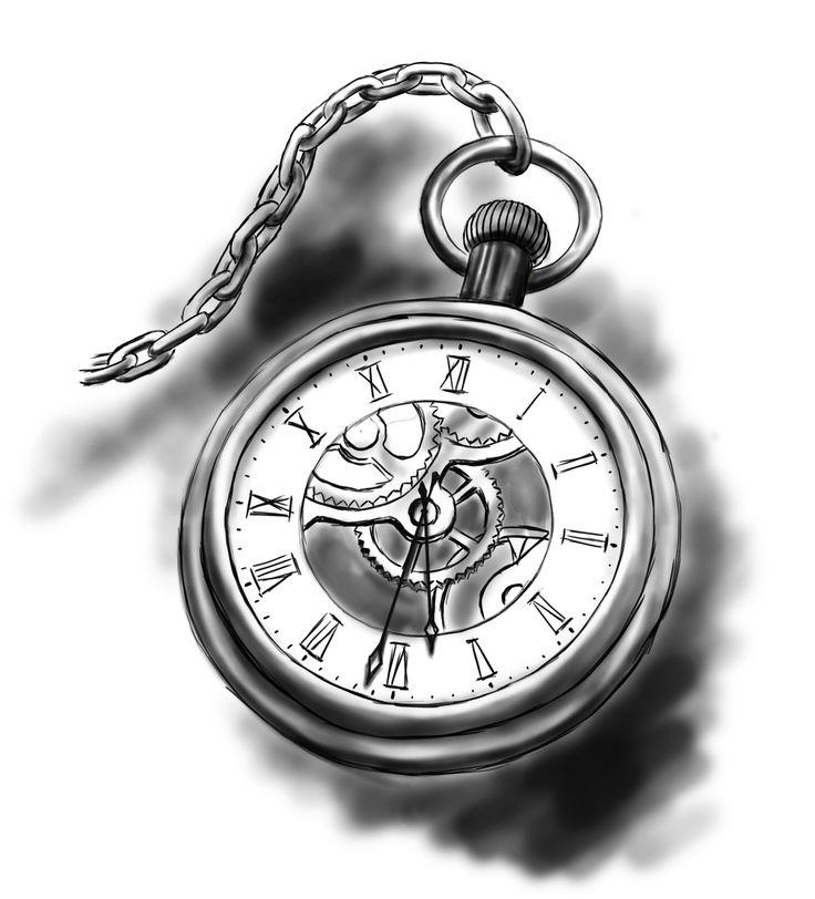 Pocket Watch clipart chain sketch Pocket ideas watch der The