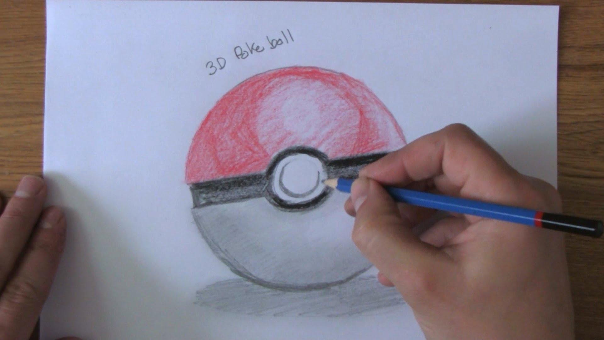 Drawn pokeball Pt2 Poke Ball Draw Ball