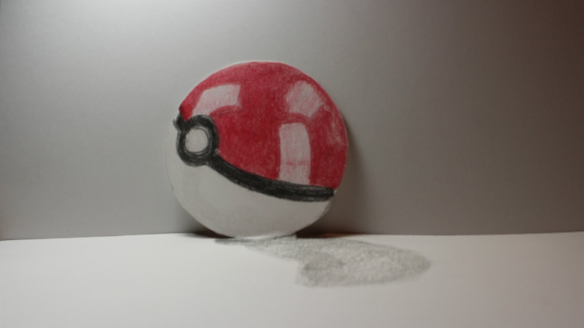 Drawn pokeball 3d drawing Ball!! a to How to