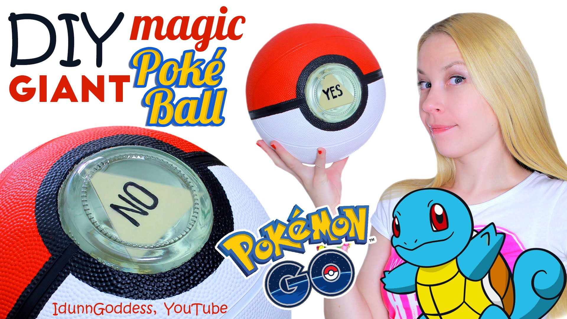 Drawn pokeball basketball Ball Pokemon GIANT Poke DIY