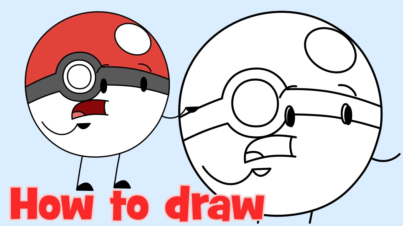 Drawn pokeball cartoon From to Go draw How