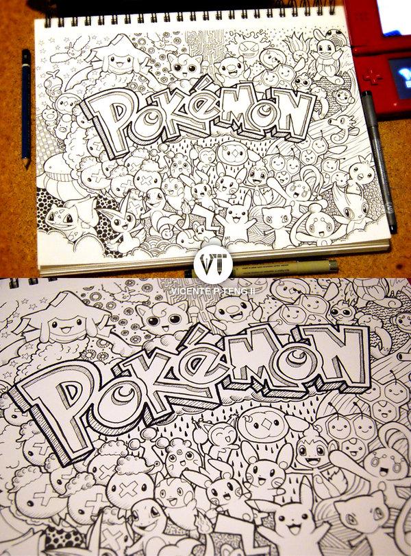 Drawn pokeball doodle Com Pokemon!!! deviantart Pokemon!!! Doodle: