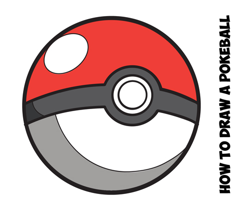 Drawn pokeball doodle Drawing from by Pokeball Tutorials