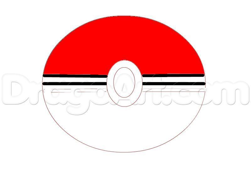 Drawn pokeball drawing How Anime PokeBall a a