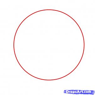 Drawn pokeball drawing Draw a draw regular circle