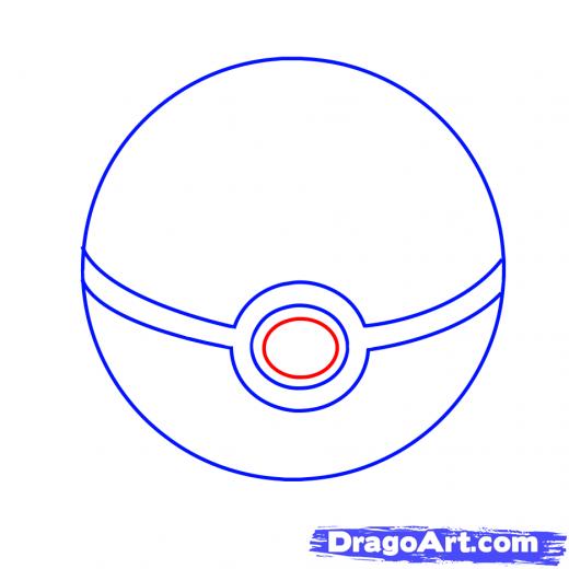 Drawn pokeball drawing To PokeBall a PokeBall How