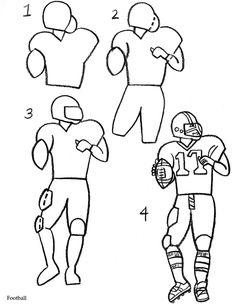 Drawn pokeball football net How Football Sports Drawing Draw