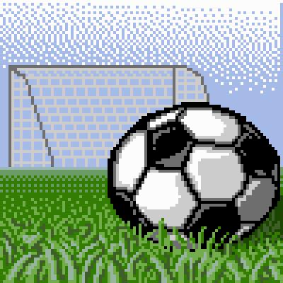 Drawn pokeball football net + Football goal Retro Football