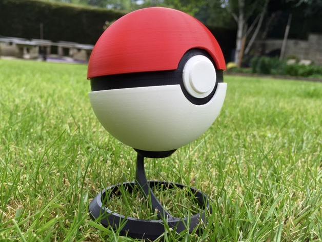 Drawn pokeball football net MrFozzie Functional Fully and Thingiview