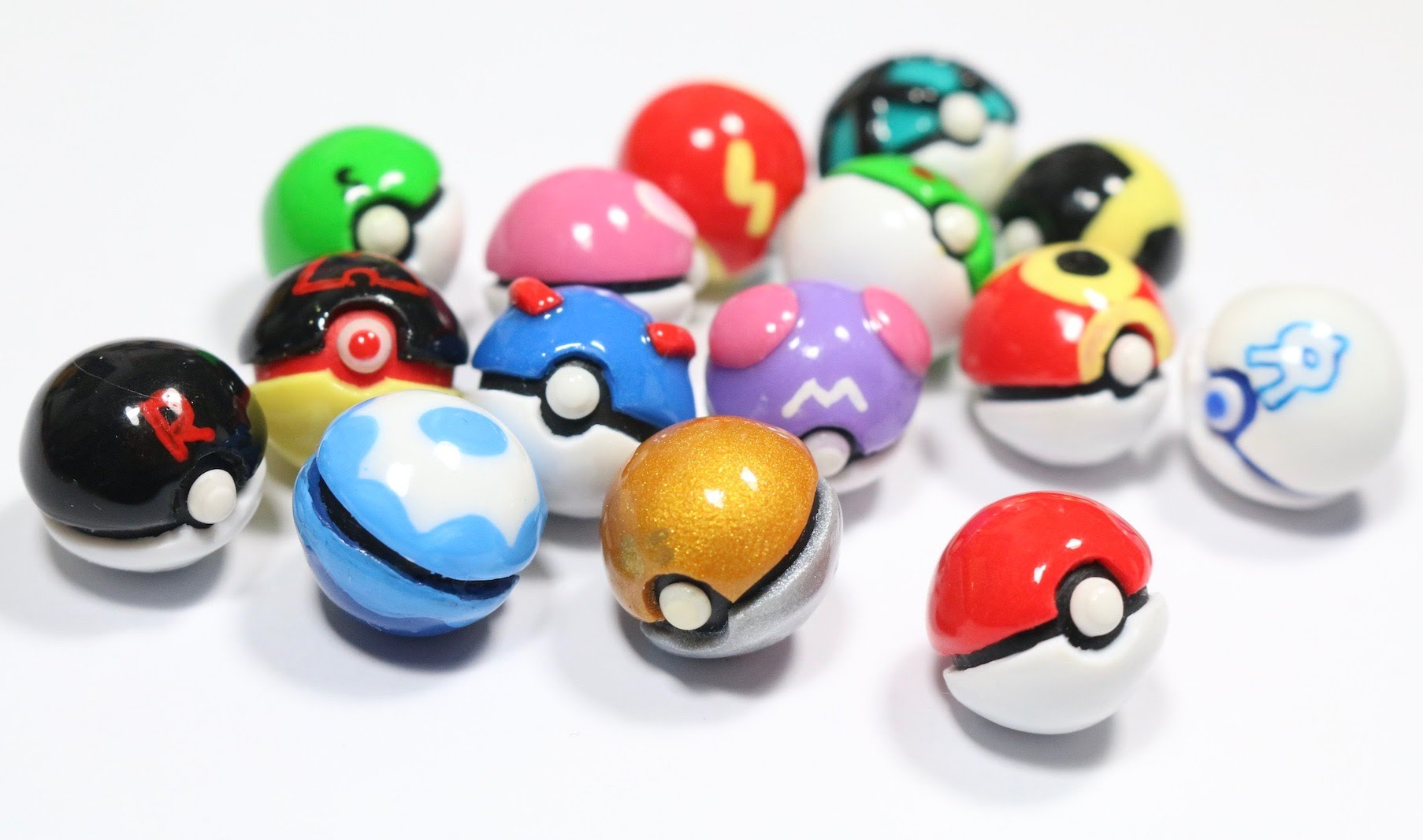 Drawn pokeball marble YouTube Pokeball 15 Miniature 15