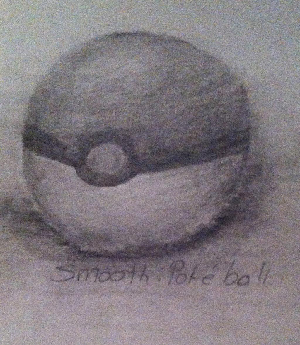 Drawn pokeball shaded Pokeball HalfafanD Smooth DeviantArt Pokeball