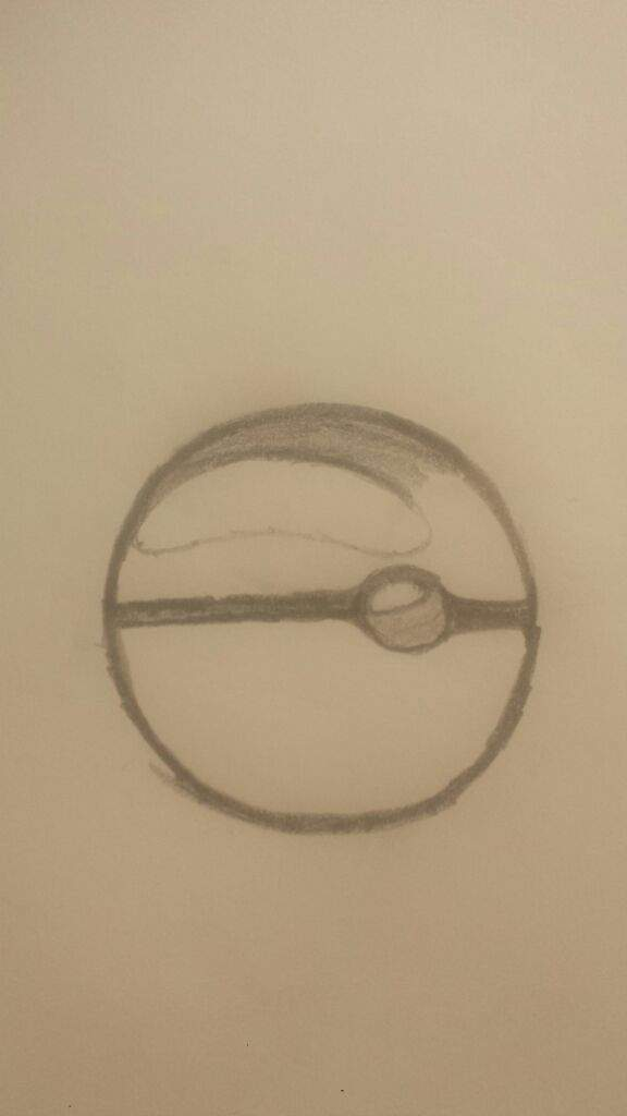 Drawn pokeball shaded Drawing the in scince in