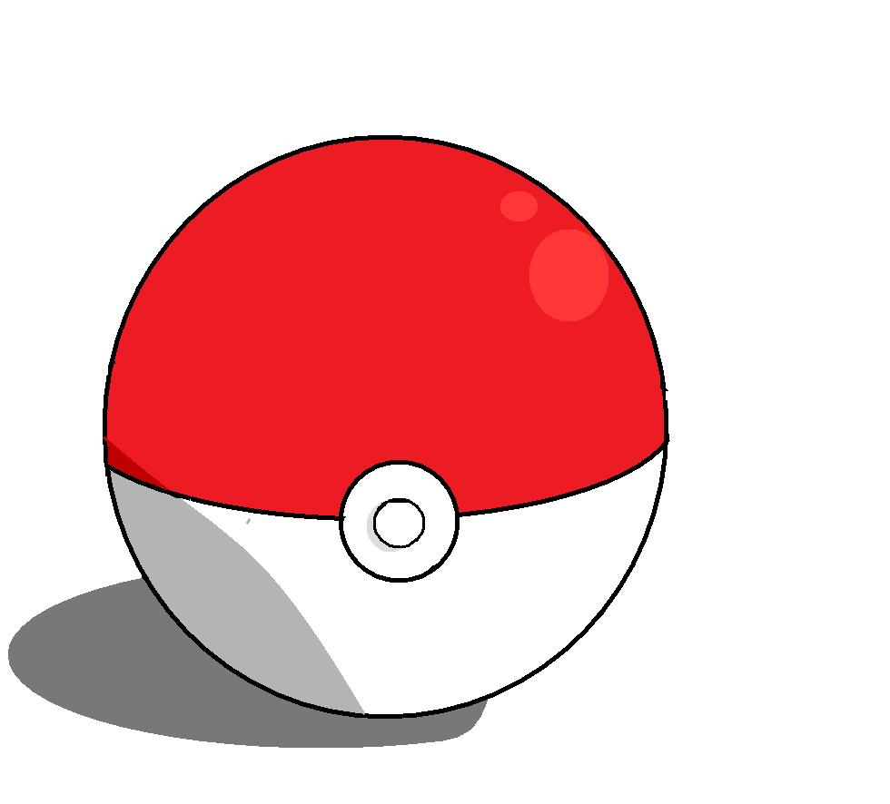 Drawn pokeball shaded Tips on shading of time