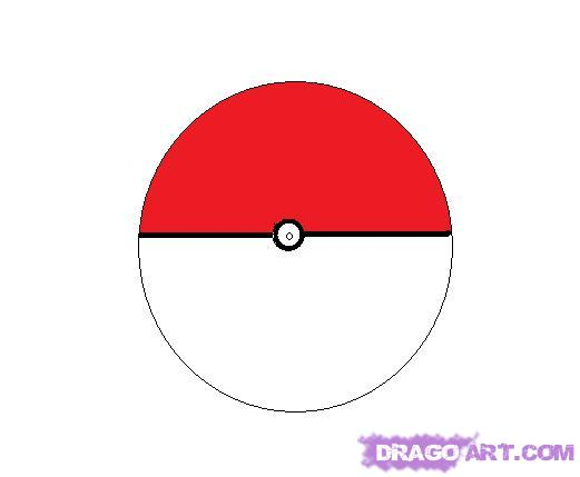 Drawn pokeball shading drawing By how Characters Anime to