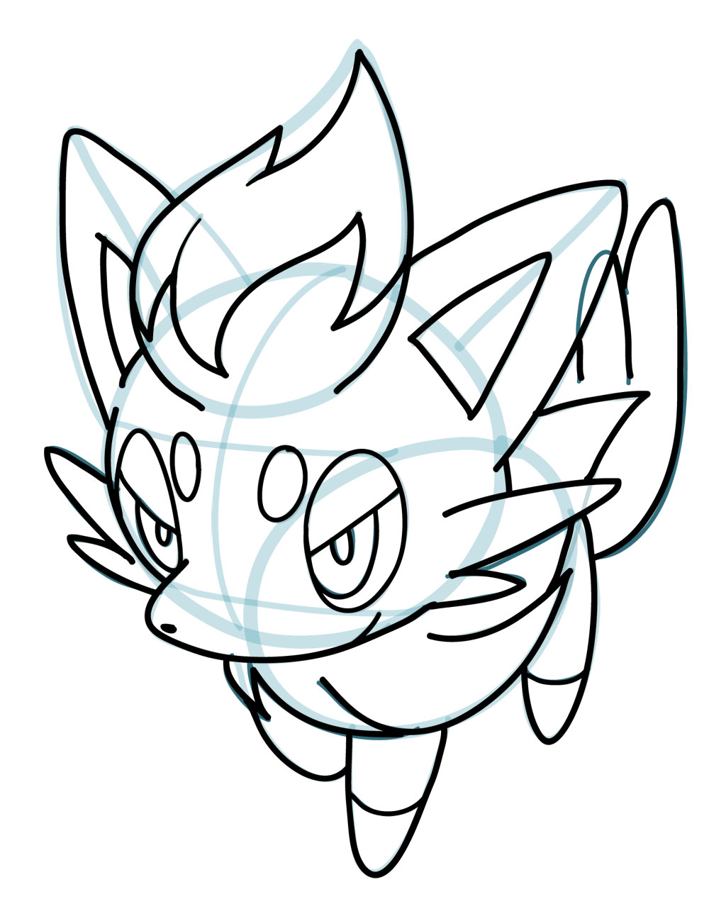 Drawn pokeball shading drawing To How Pokemon Tips how