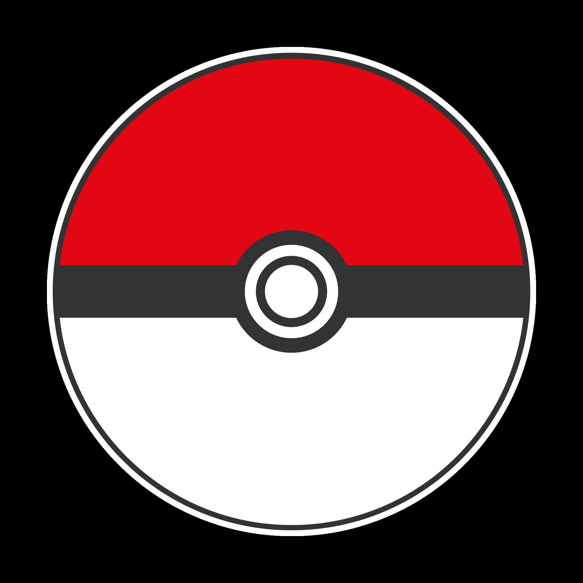 Drawn pokeball shadow Pokemon PNG free images PNG