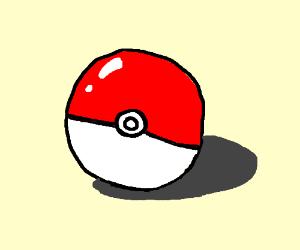Drawn pokeball shadow And CromaSins45) Pokeball shadow with