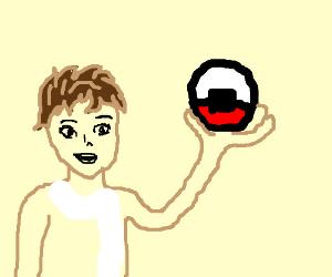 Drawn pokeball soccer boy By A Main) hot pokeball