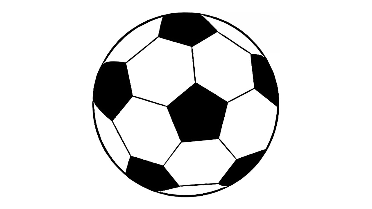 Drawn pokeball soccer goal post YouTube (easy) Soccer How Ball