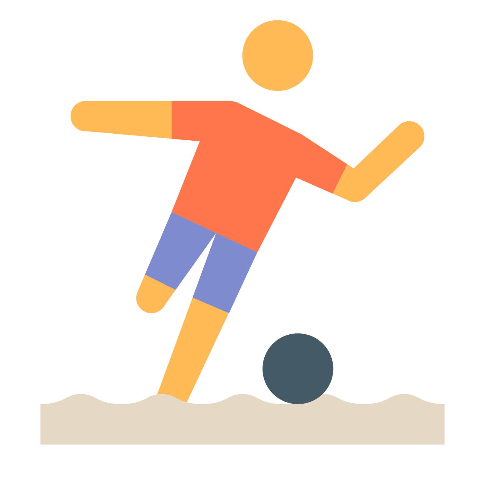 Drawn pokeball soccer goal post Soccer for Ball icon Icons