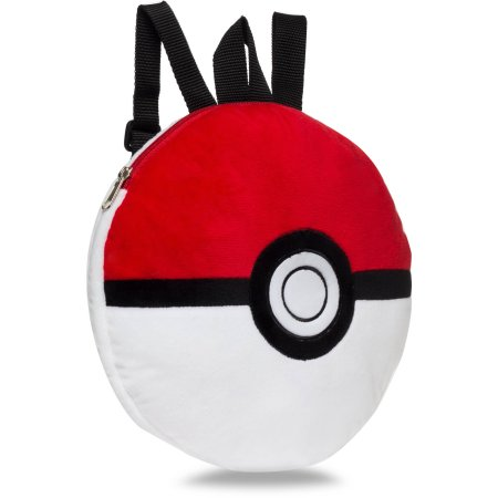 Drawn pokeball softball Domed Poke Backpack Pokemon Walmart