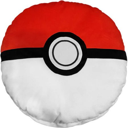 Drawn pokeball softball Com Pillow Pokemon Pillow Pokeball