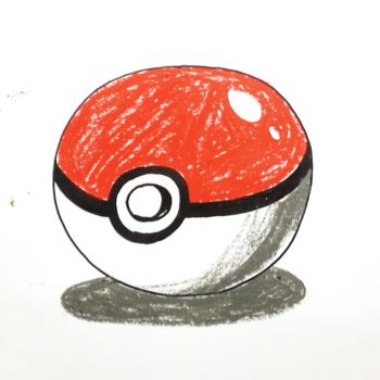 Drawn pokeball sports equipment How Step a 0 allforkidschannel's