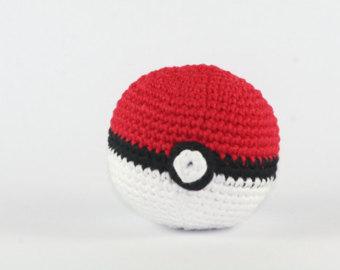 Drawn pokeball wool Amigurumi pokemon pokeball Crochet pokemon