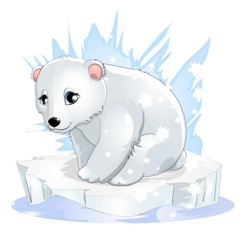 Drawn polar  bear adorable baby Baby ♥ Google bear drawing