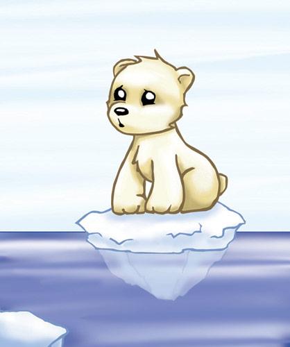 Drawn polar  bear adorable baby Polar Polar Search Search baby